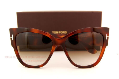 Brand New Tom Ford Sunglasses TF 0371 371 53F Havana//Brown Gradient  Women