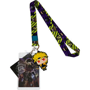 **Legit** JoJo/'s Bizarre Adventure Dio Badge Holder Authentic Lanyard #37762