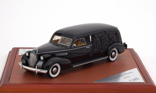 1:43 CMF La Salle S/&S Hearse 1939 black