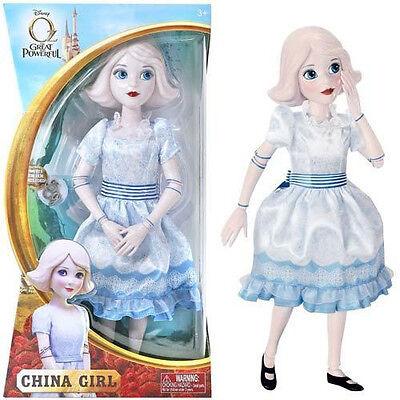 "NEW Disney 14"" CHINA GIRL Barbie DOLL & ""CG"" Charm OZ The Great & Powerful NIB!"