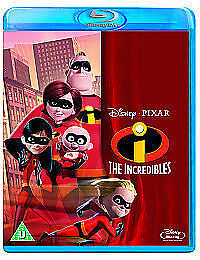 The Incredibles [Blu-ray] Very Good DVD, Jason Lee,Holly H