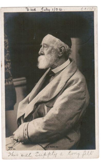 JUDAICA POSTCARD JEWISH TYPES  BRITISH JEW 1905