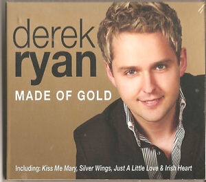 Details about DEREK RYAN MADE OF GOLD - 14 TRACK NEW CD COUNTRY & IRISH