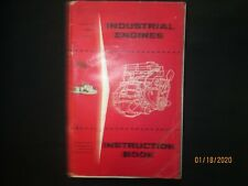 Ford England 4 Amp 6 Cyl Industrial Petrol Amp Diesel Engine Instruction Book Manual