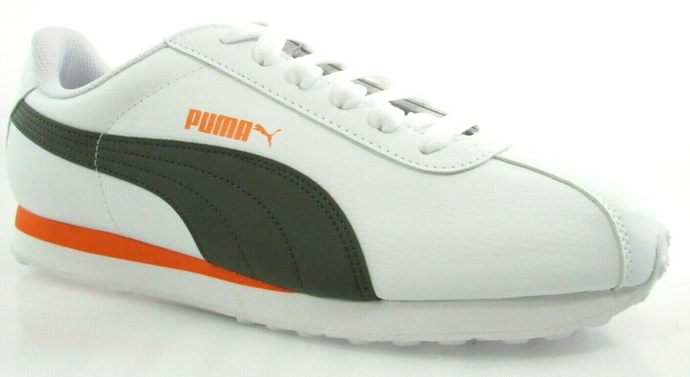 PUMA TURIN MEN'S WHITE FOREST NIGHT SNEAKERS
