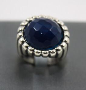 Anello-Vanto-Gioielli-regolabile-in-argento-925-con-pietra-blu-ref-AN3383AN