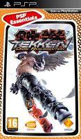 Tekken: Dark Resurrection [sony Playstation Psp, Essentials, Region Free]