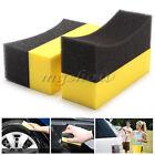 10pcs Car Cox Professional Tyre Tire Dressing Applicator Curved Foam Sponge Pad