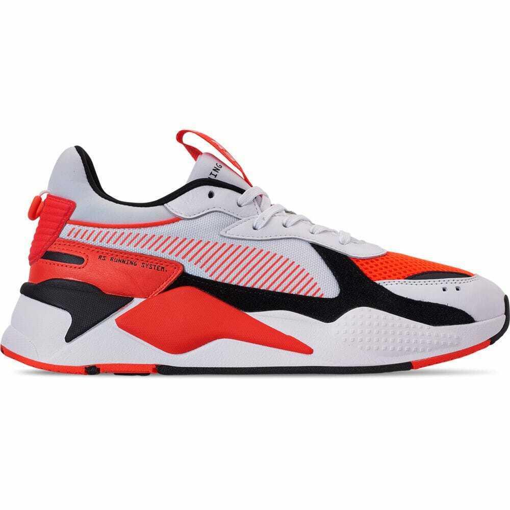 Men's Puma RS-X Reinvention Running shoes Puma White Red Blast 36957902 002