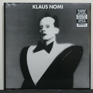 KLAUS-NOMI-Ltd-Edition-039-Caberet-Smoke-039-BLACK-WHITE-Vinyl-LP-NEW-SEALED