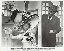 "AUDREY HEPBURN & REX HARRISON in ""My Fair Lady"" Original Vintage Photo 1964"