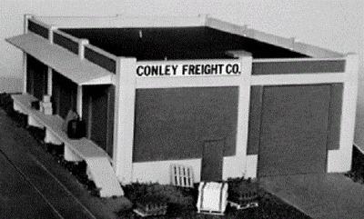 NIB Carson Street Rail City Classics #107 HO Scale Truck Terminal Kit