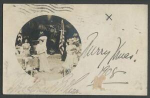 1908-RPPC-Photo-Postcard-Mrs-Donald-Emily-Ritchie-McLean-President-D-A-R