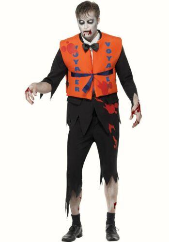 Zombie perdu en mer noyé Fancy Dress Costume Halloween Costume Gilet