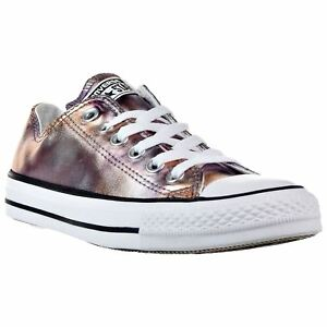2618f5f7c57a Converse Chuck Taylor All Star Ox Dusk Pink White Mens Canvas Low ...
