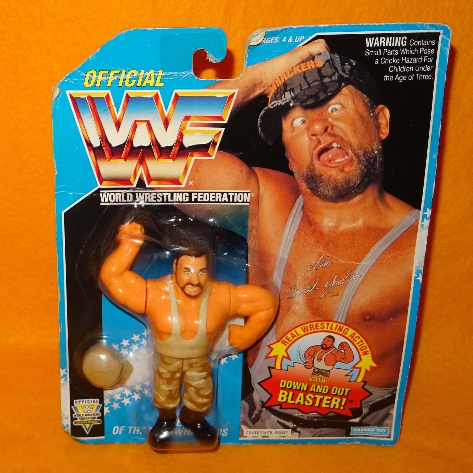 Vintage 1994 Hasbro WWF Wrestling Series 10 camionero Luke Figura Moc cardado