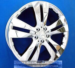 Mercedes gl350 bluetec gl450 gl550 20 inch chrome wheels for Mercedes benz gl450 chrome accessories