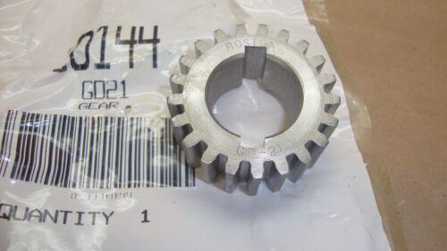 """New Boston Spur Change Gear GD-21 21 Teeth 1/"""" Bore Steel GD21"""