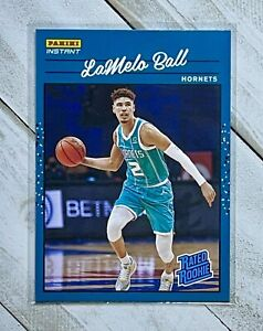 2020-2021 LaMelo Ball Panini RATED ROOKIE RETRO #RR3 SP-1/3,558 Hornets
