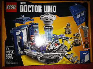 Lego-Ideas-Doctor-Who-21304-BRAND-NEW-FACTORY-SEALED-BBC-Dr-Who