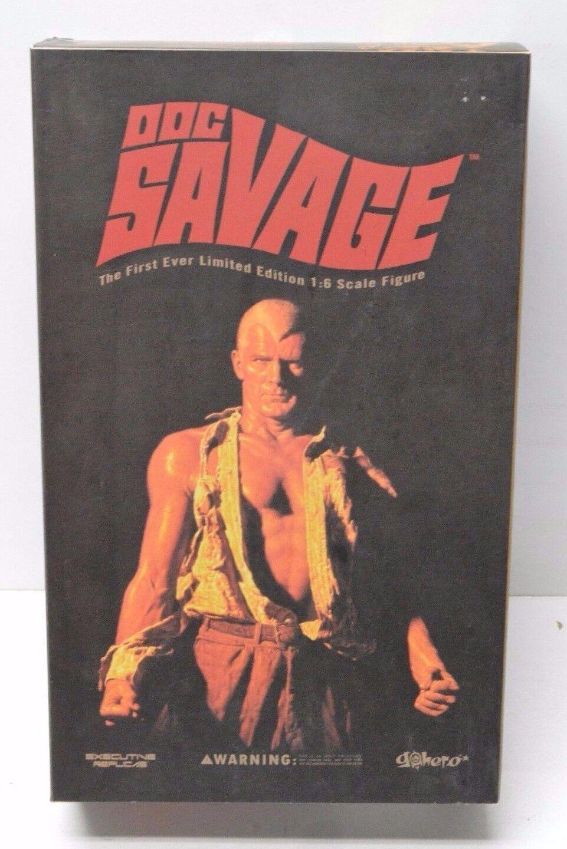 Doc Savage 1:6 Action Figure Pulp Hero Go Hero Executive Replicas NIP