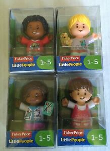 Fisher-price-little-people-Lot-of-4-ages-1-5-Mia-Audrey-Chris-Ella