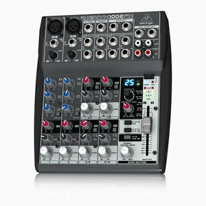 behringer xenyx 1002fx analog mixer 10 input 6 channel effects eq live sound ebay. Black Bedroom Furniture Sets. Home Design Ideas