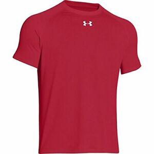 Under-Armour-Men-039-s-Locker-Shortsleeve-T-Shirt-Red-X-Large