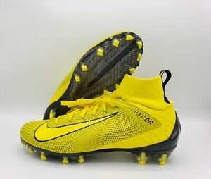 Nike Men S Vapor Untouchable 3 Pro Football Cleats Yellow 917165 701 Size 9 5 Ebay