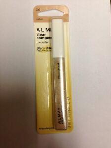 Lot-2-Almay-Clear-Complexion-Concealer-Hypoallergenic-300-Medium-0-18oz-Ea