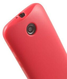 PINK-FLEX-GEL-TPU-SOFT-GRIP-SKIN-CASE-COVER-FOR-MOTOROLA-MOTO-E-1st-Gen-2014