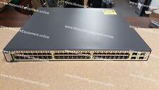 Cisco WS-C3750G-48PS-S IP Services PoE Gigabit switch 3750G-48PS-S 3750G-48PS-E