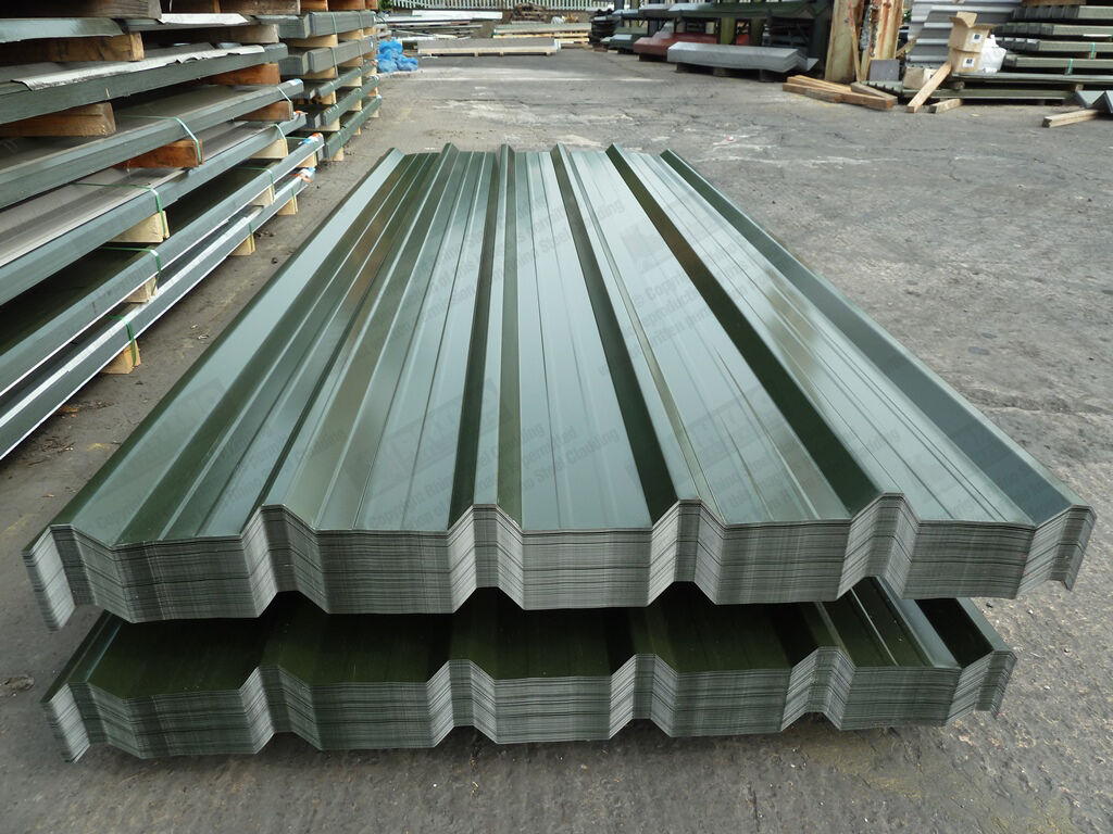 Metal Roofing Sheets Box Profile Roofing Sheets Slate Blue