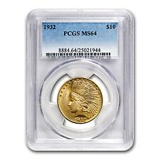 $10 Indian Gold Eagle Coin - Random Year - MS-64 PCGS - SKU #21693