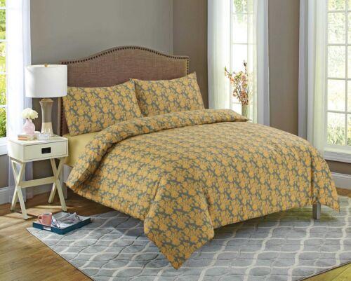 Patterns Elegance 100/% Egyptian Cotton Printed Duvet Cover Sets Bedding Sets 9