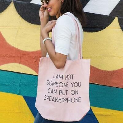 "Tote Bag Shopping Bag /""Someone Said I Lived In A Fantasy Land/"" Foldable Bag"
