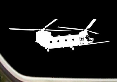 Helicopter MH-47-G Chinook With Fuel Probe Pilot Decal Sticker Airplane SK-R013