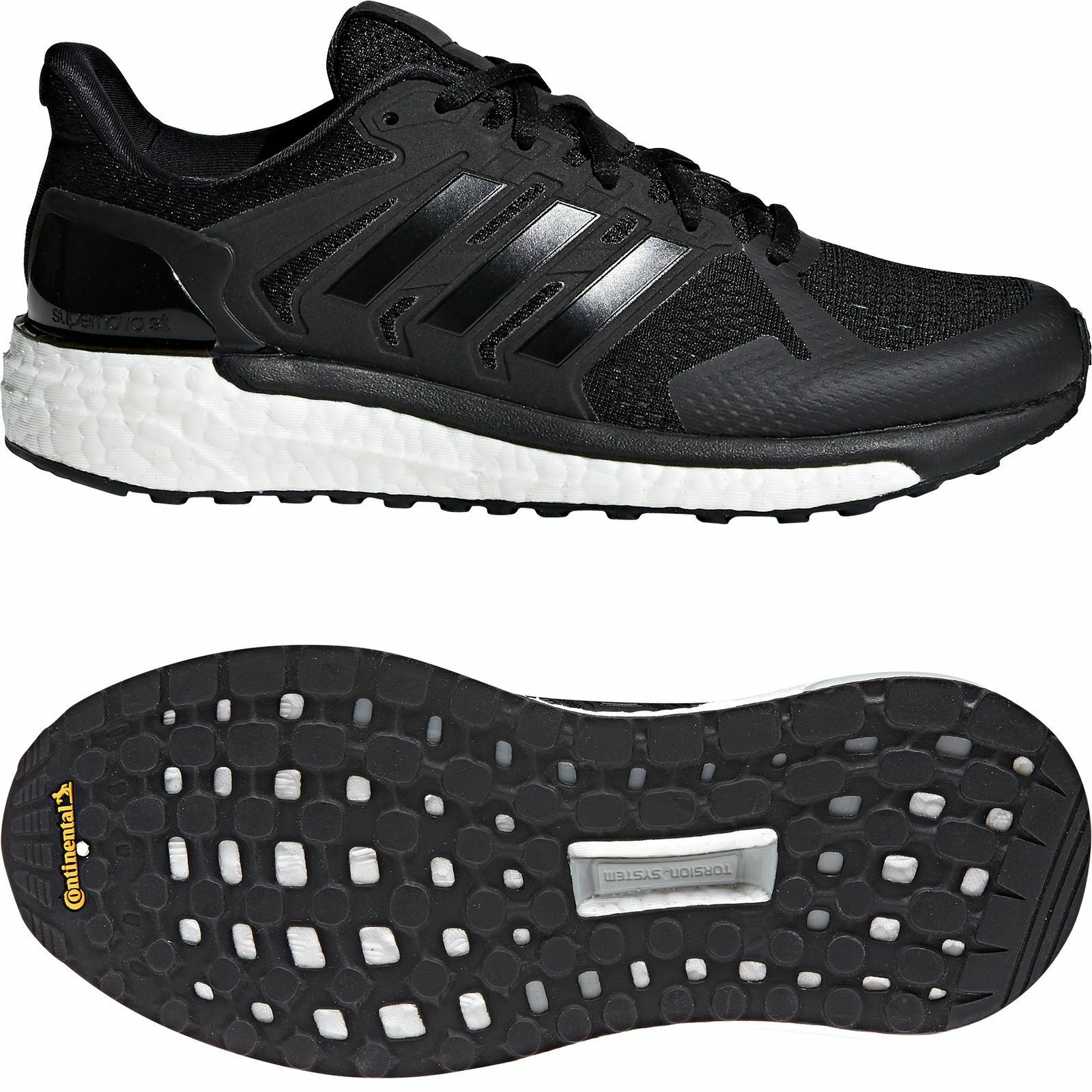 Adidas Supernova ST Boost Women's Running Training Shoes Black CG4036