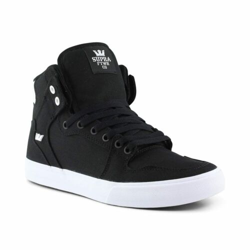 Top Vaider Supra Bianco Shoes Nero High wnESqRS0H