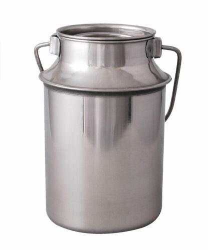 2,5 L Milchkanne aus rostfreiem Edelstahl 2,5 Liter MILCHKANNE 2,5L Milch Kanne