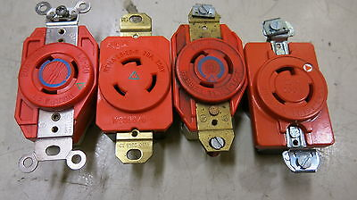 L5-20RIG 125 Volt 20 Amp 3 Wire Isolated Ground Twistlock Receptacle
