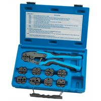 Tool Aid - SGT18980 Quick Change Ratcheting Terminal Crimping Kit 9 Die Sets # 18980 P Tools and Accessories
