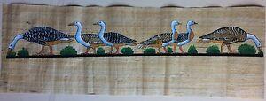 Dessin-contemporain-sur-papyrus-veritable-Egypte-fait-main-26x80-cm-refp1