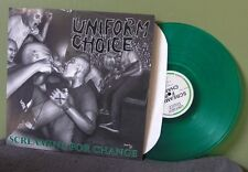 "Uniform Choice ""Screaming For Change"" LP NM Black Flag Bad Religion The Vandals"