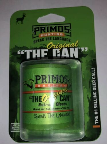 Primos The Original Can 7064  Deer Call Free Shipping