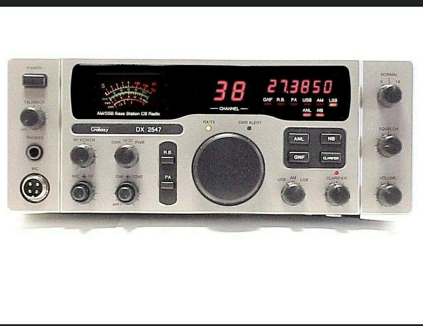 NEW Galaxy DX2547 CB RADIO BASE STATION. AM and SSB.. Buy it now for 399.00