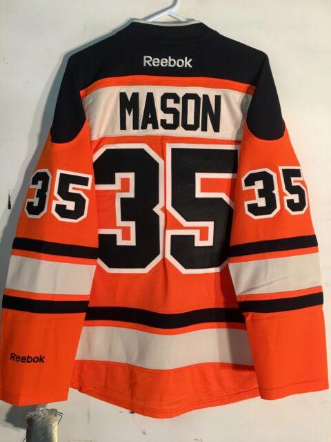 c60b244ab Reebok Premier NHL Jersey Philadelphia Flyers Steve Mason Orange Alt sz XL