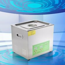 6l 10l 15l Commercial Ultrasonic Cleaner Industry Heated Heater Jewelry Glasses