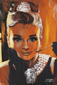 Stephen-Fishwick-Audrey-Hepburn-Maxi-Poster-61cm-x-91-5cm-new-and-sealed