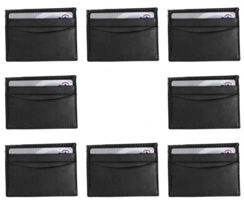 Lot Synthetic Leather Money Clip Magnet Slim Pocket Wallet ID Credit Card Holder